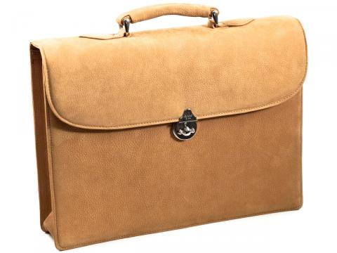Single Compartment Briefcase