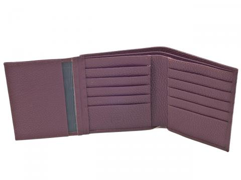 15-Slot Bi-fold Wallet