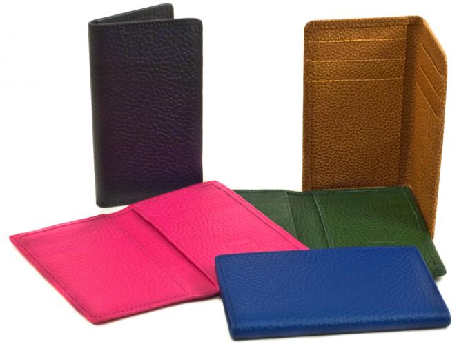 Tall & Narrow Credit Card Holder