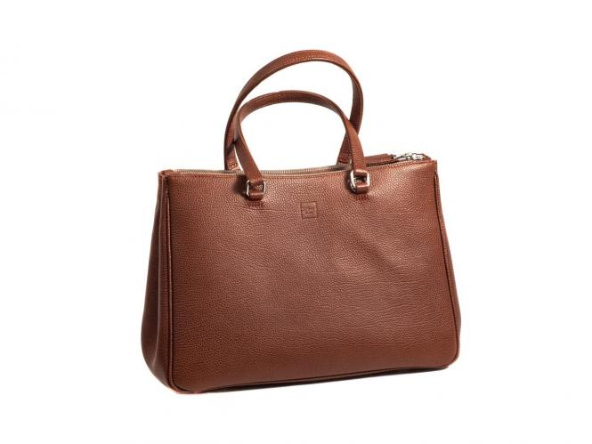 Handbag Double Zipper