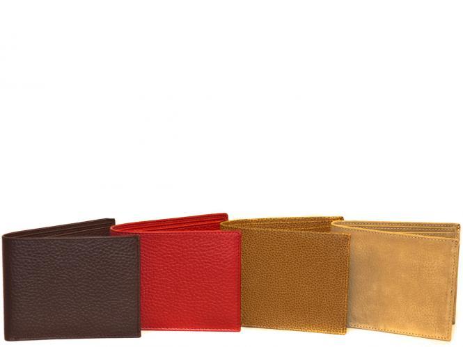Brieftasche Quer ohne Münzfach