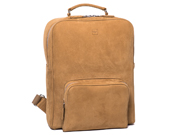 Zippered Rucksack with Front Pocket